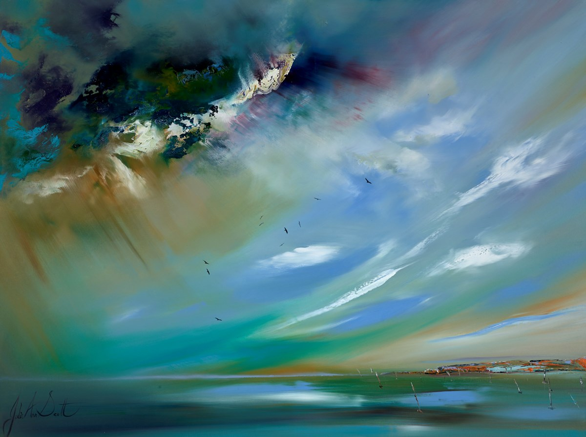 Chasing a Dream by julie ann scott -  sized 40x30 inches. Available from Whitewall Galleries